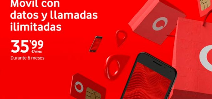 Vodafone sigue el halo de las ofertas con una oferta fugaz
