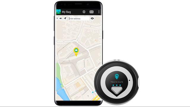 La app Trackisafe de V-Multi-Tracker