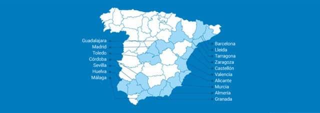 ciudades con cobertura de fibra óptica de digi