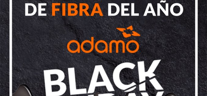 Adamo regala su fibra óptica por el Black Friday