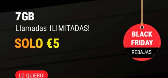 Lycamobile se une al Black Friday: 7GB y llamadas ilimitadas por 5 euros