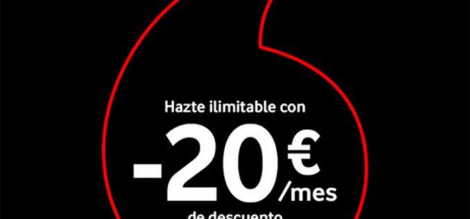 El Black Friday inunda Vodafone con descuentos en toda su oferta