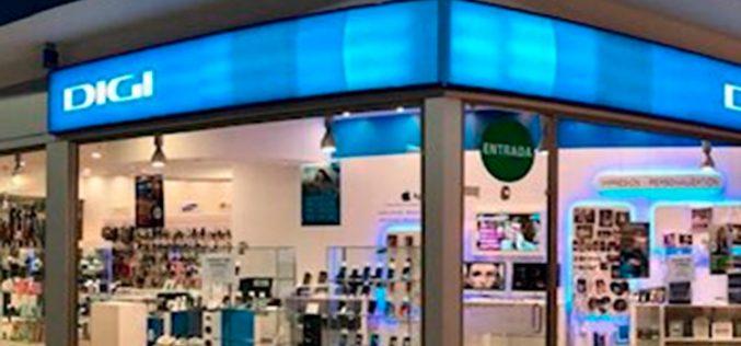 Digi impide tramitar portabilidades móviles e instalaciones de fibra desde tiendas físicas
