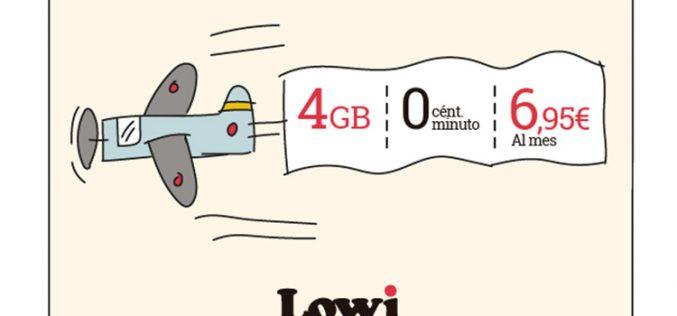 Lowi despega hacia la batalla de las tarifas low cost