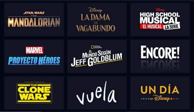 Disney+ Originals Exclusivos