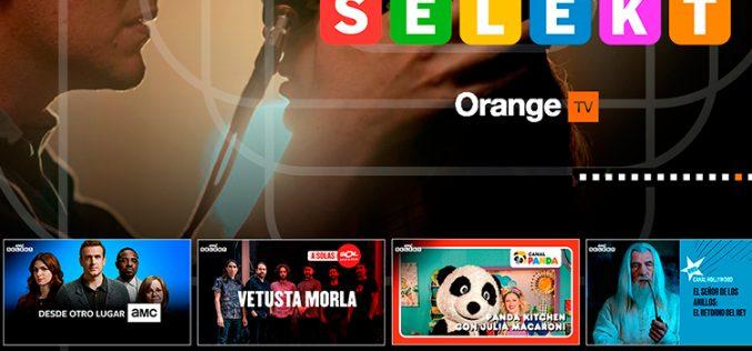 Orange TV apuntala su catálogo de contenidos con Amc Selekt