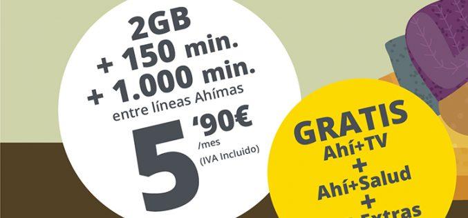 Datos móviles, minutos y concienciación: Ahí+ lanza la tarifa móvil #QuédateEnCasa