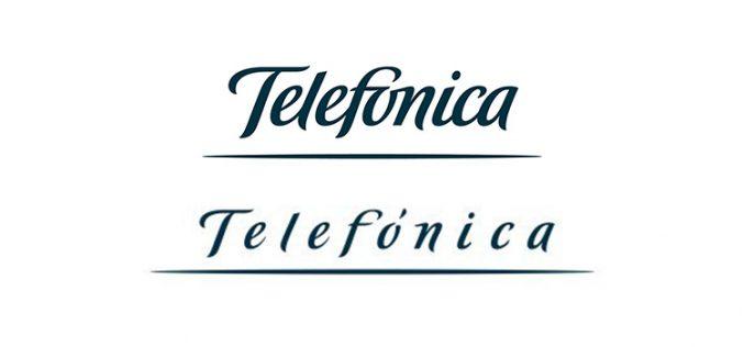 Telefónica cambia su logotipo por el coronavirus