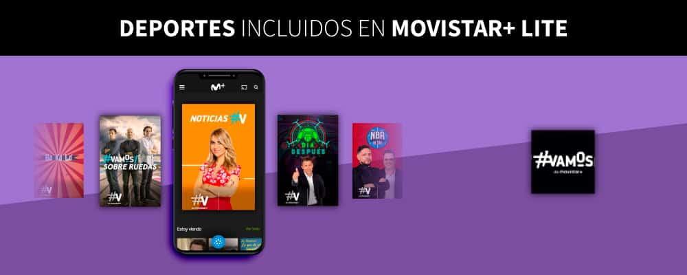 deportes en Movistar+ Lite