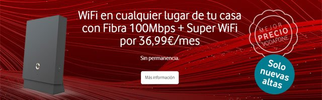fibra Vodafone sin permanencia