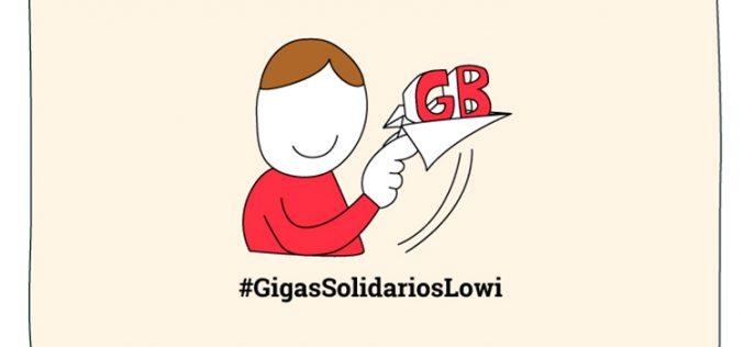 Nunca sin GB: los resultados de los Gigas Solidarios de Lowi
