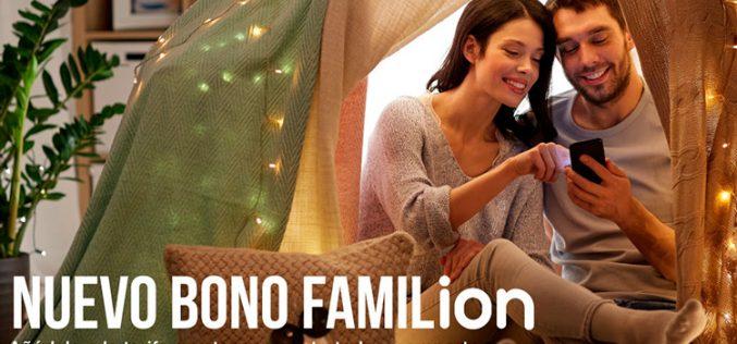 Bonos Familion, los nuevos suplementos para compartir GB de Ion Mobile