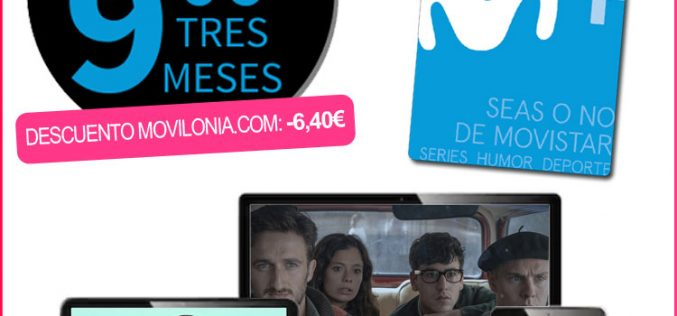 Suscripción de 3 meses a Movistar+ Lite por menos de 10€