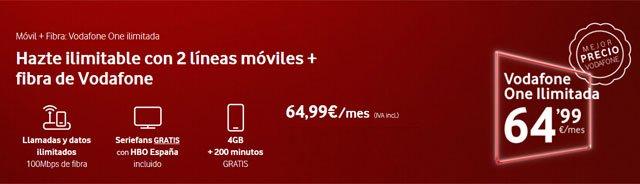 Vodafone One Ilimitada