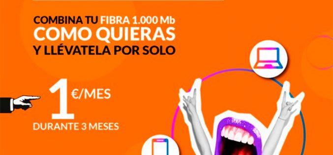 Adamo revoluciona su oferta y rebaja sus tarifas de fibra óptica a 1 euro