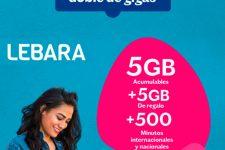 Lebara sube la apuesta y duplica los GB de sus tarifas móviles hasta julio