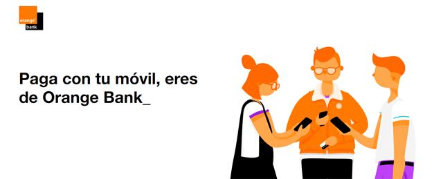 Google Pay en Orange Bank