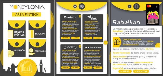 Moneylonia: bancos, tarjetas, inversión y préstamos