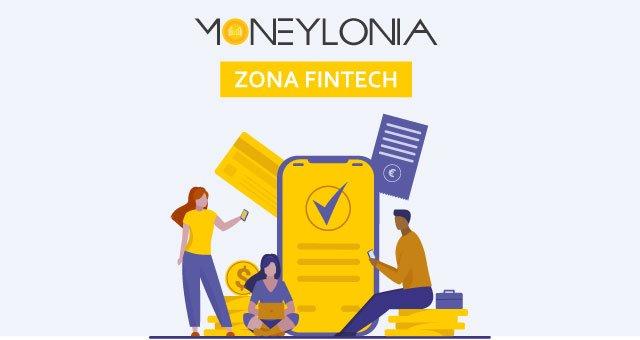 cabecera de Moneylonia, la zona fintech de Movilonia.com