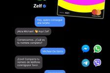 Zelf, el neobanco que opera desde WhatsApp