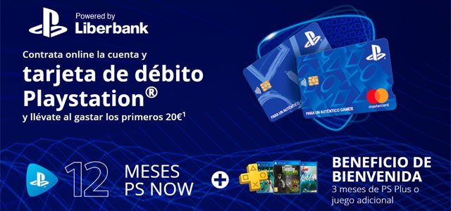 cuenta PlayStation powered by Liberbank