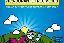 Movilonia.com lanza una oferta de 10 para las tarifas móviles de contrato de Suop