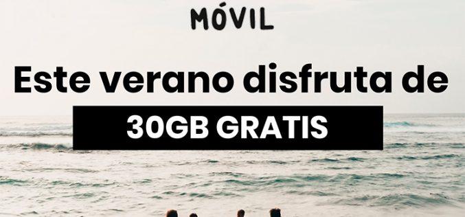 República Móvil se moja en verano con 30GB de regalo