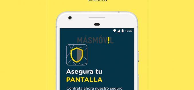 La seguridad es lo primero: Masmóvil lanza un seguro para pantallas de móviles