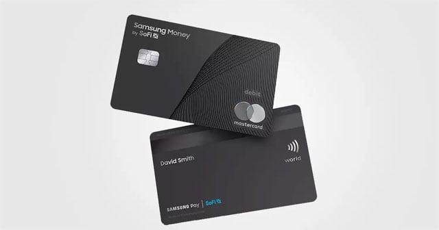 tarjeta Mastercard Samsung Money by SoFi