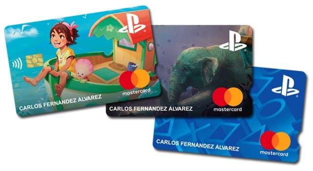 tarjetas Mastercard Playstation