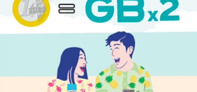 Doble de GB a cambio de un euro: así es la oferta de PTV Telecom en verano
