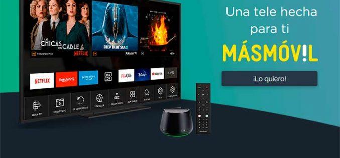 La televisión en streaming se abre paso: Agile TV llega a los clientes de Masmóvil