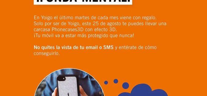 Yoigo regala carcasas para smartphones por el Requetemartes de agosto
