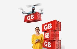 Las tarifas móviles Vodafone Yu ofrecen GB acumulables durante tres meses