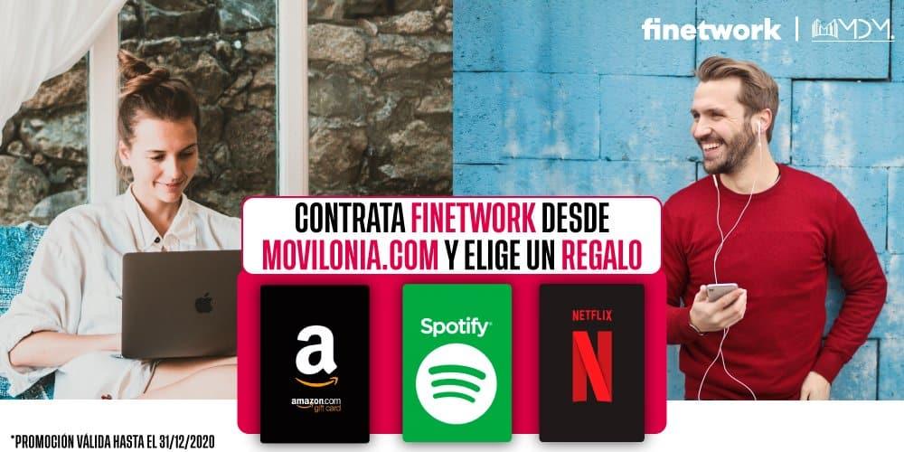 oferta exclusiva de Movilonia.com con Finetwork