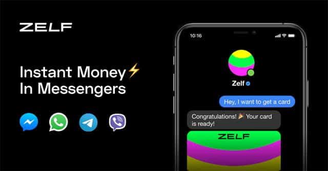 Zelf en apps de mensajería instantánea