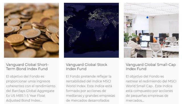 fondos de inversión de Fundsfy