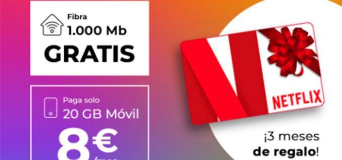 Tres meses de regalo a Netflix, así es la nueva oferta flash de Adamo