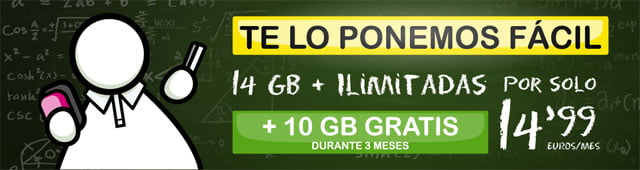 ofertas de tarifas móviles de Suop en septiembre de 2020
