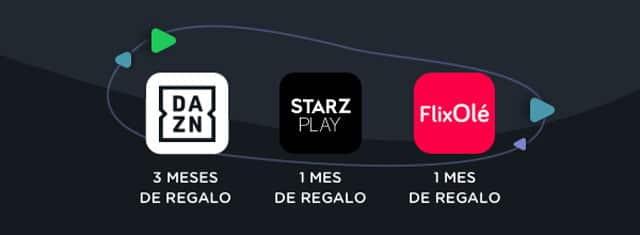 ofertas de plataformas de streaming de Yoigo y Agile