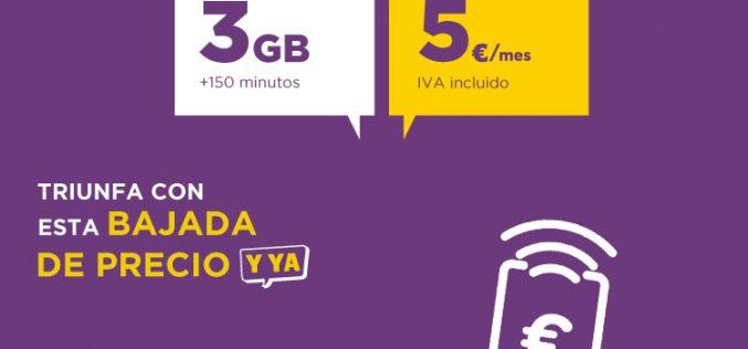 Llamaya vuelve a igualar sus tarifas móviles de prepago y contrato