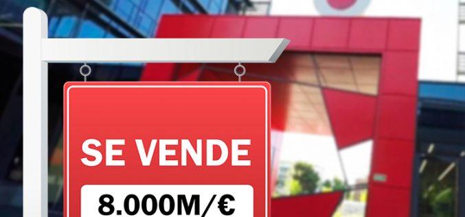 El mercado valora Vodafone España en 8.000 millones de euros
