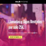 tarifa móvil de Oléphone con llamadas y GB ilimitados