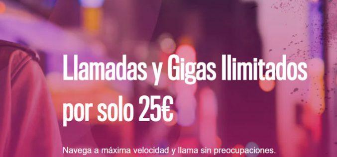 Oléphone ofrece 4G y llamadas ilimitadas por 25 euros