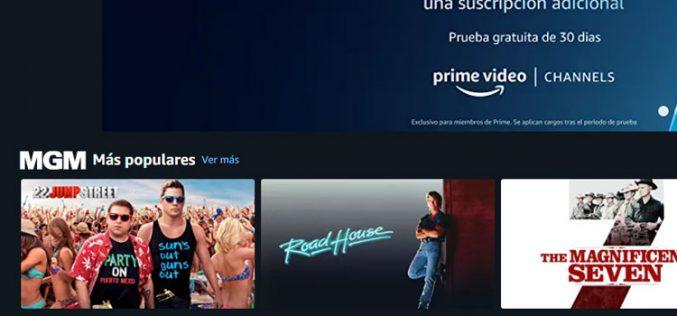 Prime Video integra Starzplay y otros canales de pago de suscripción opcional