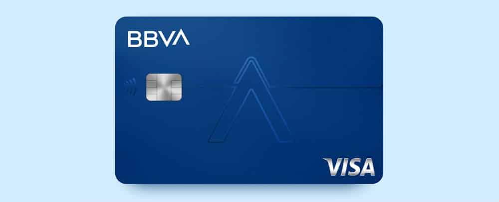 Tarjeta Visa AQUA de débito de BBVA