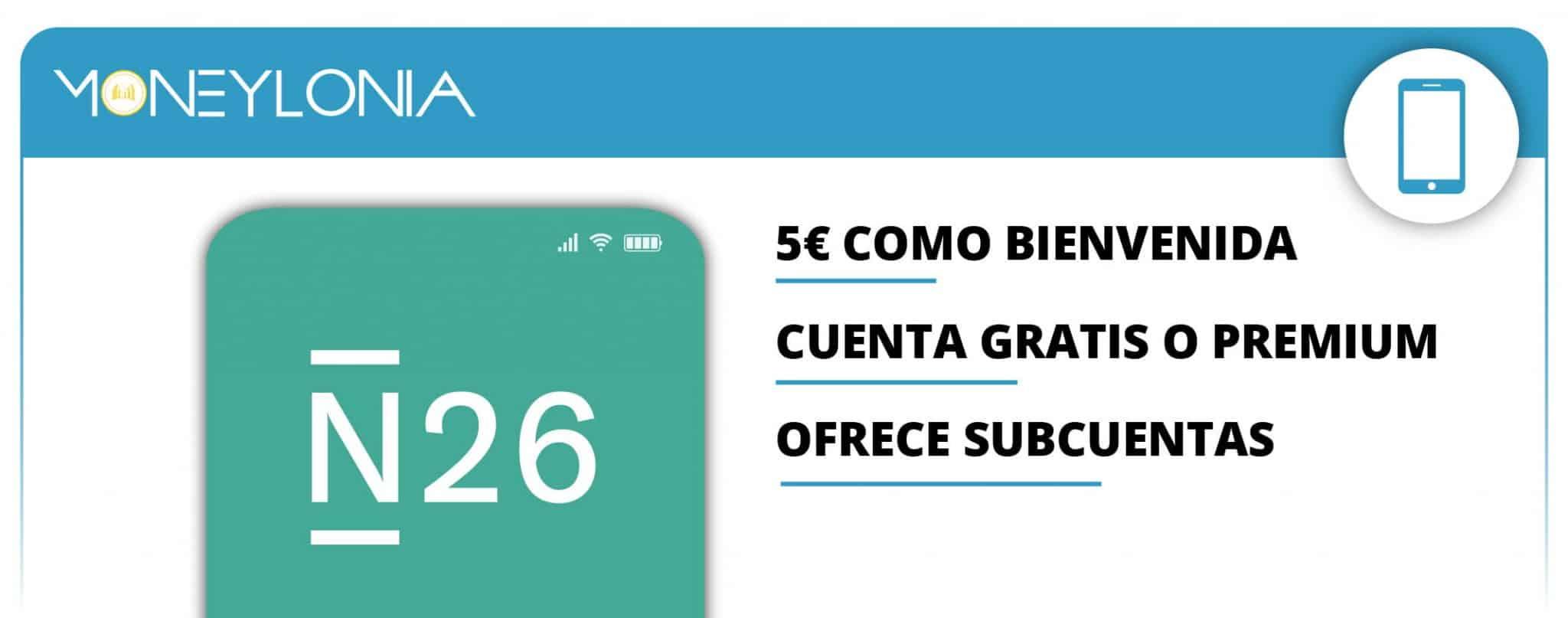 cuenta del banco móvil N26