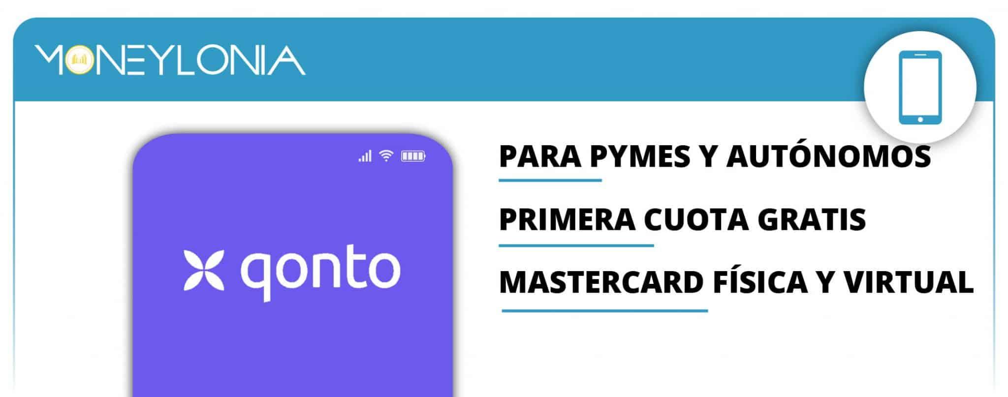 cuenta del banco Qonto para pymes