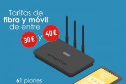 Si pagas más es porque quieres: más de 60 tarifas de fibra y móvil por menos de 40€/mes