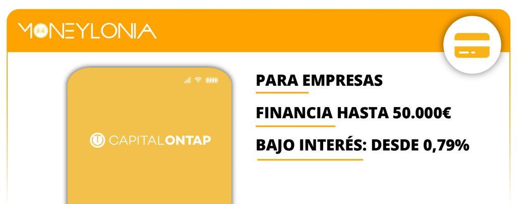tarjeta para empresas Capital on tap